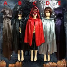 Hooded Halloween Costumes 2016 Kids Boys Girls Cloak Robe Cape Hooded Shepherds Halloween