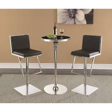 Bar Table And Stool Set Contemporary Bar Table And Stool Set By Scott Living Wolf And