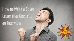 how to write a cover letter that gets you an interview