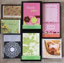 hallmark thank you greeting greeting cards ebay