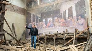 berlin how george clooney faked da vinci s last supper for berlin how george clooney faked da vinci s last supper for monuments men hollywood reporter