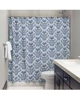 Blue Paisley Shower Curtain Get The Deal Indigo Paisley Shower Curtain Blue