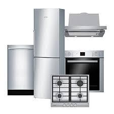 bosch bosch 5 piece compact kitchen suite u0026 8211 stainless steel