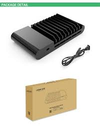 ugreen 96w universal 10 port multi usb charger station dock for