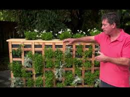 how to build a moveable living garden wall with jim cunneen youtube