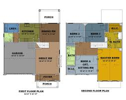 4 bedroom 2 story house plans 4 bedroom floor plans 2 story home ideas decor luxamcc