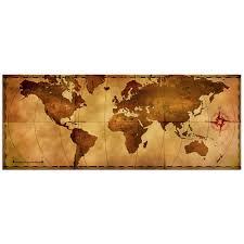 World Map Wood Wall Art by Old World Map Wall Art Shenra Com