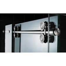 aston 48 x 34 75 completely frameless sliding shower door