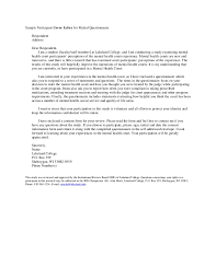 inspirational survey cover letter template 58 for resume cover