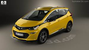 opel ampera 360 view of opel ampera e 2017 3d model hum3d store