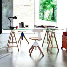 bureau table verre table de bureau en verre table bureau fill table bureau verre alinea