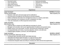 legal assistant resume cover letter sample legal assistant resume