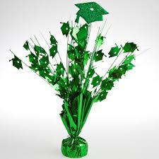 graduation cap centerpieces green graduation cap foil centerpiece