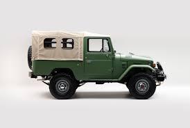 matte green jeep this matte green 1984 toyota land cruiser fj43 couldn u0027t be cooler