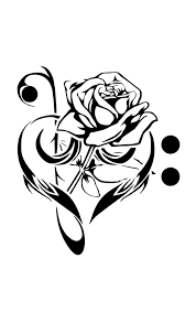 once again red rose tattoo stencil in 2017 real photo pictures