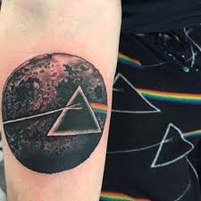 side of the moon pink floyd forearm by