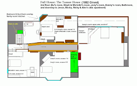 Blueprint For Houses by Full House Floor Plan Sitcoms Online Message Boards Forums
