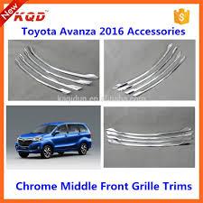 toyota avanza car accessories toyota veloz plastic front car grille for avanza