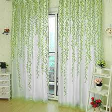 Tree Curtain Home Textile Tree Willow Curtains Blinds Voile Tulle Room Curtain
