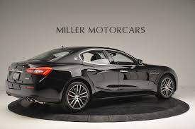 maserati ghibli black 2016 maserati ghibli s q4 ex loaner stock m1548 for sale near