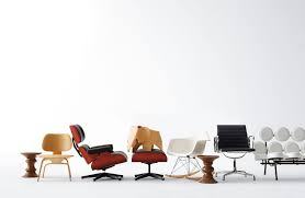 Lounge Chair And Ottoman Eames by Vitra Miniatures Collection Eames Lounge And Ottoman Design