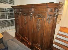 Wooden Armoire Wardrobe Vintage Armoire Wardrobe U2014 All Home Ideas And Decor Vintage