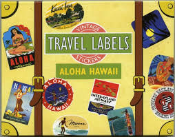 Hawaii Travel Trunks images Travel stickers hawaii travel stickers luggage stickers etsy jpg
