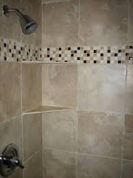 glass tile shower band 8 2007 tub surround tile showers and tubs