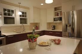 small kitchen ideas with l shaped cabinet hood range unique design