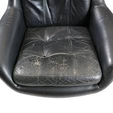 Black Leather Armchair Black Leather Armchair Peem 1960s Design Market