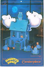 halloween hallmark haunted house centerpiece 1987 from zombos