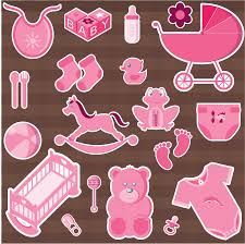 girl accessories clipart baby girl accessories