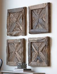 Old Wood Wall Furniture U0026 Accessories Wooden Wall Art Decoration Unvarnished