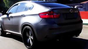 matte grey bmw bmw x6m wrapped it mettalic matte grey by dbx sex6m youtube
