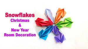 snowflakes out of paper u2013 paper snowflakes for christmas and new