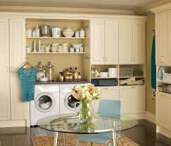 kitchen laundry room kitchen transitional with fireclay apron