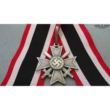 German War Flag Ww2 German Knights Cross Of The War Merit Cross With Swords In