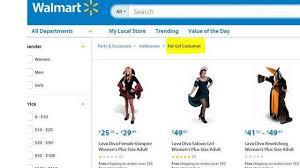 Walmart Halloween Costumes Girls Whoops Walmart Offers U0027fat U0027 Halloween Costumes