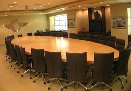 Quill Conference Table with Oval Conference Table Bonners Furniture