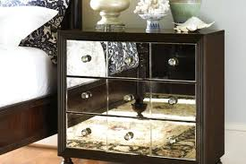 clearance nightstand s contemporary nightstands mirrored dresser