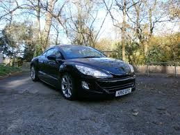 peugeot rcz black used peugeot rcz black for sale motors co uk