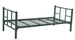 china hotel metal bed frame single design metal frame powder