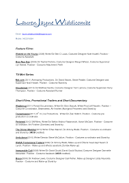 Trade Assistant Resume Acting Resume Template For Microsoft Word Resume Templates And