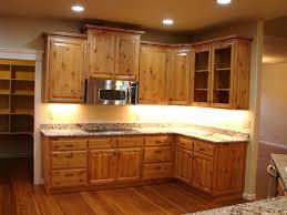 Reaganfordinterior 20 Hickory Wood Cabinets Kitchens 37 Fantastic L Shaped