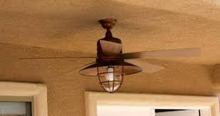Outdoor Ceiling Fans At Home Depot by Hampton Bay Metro 54 In Indoor Outdoor Rustic Copper Ceiling Fan