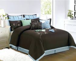Blue And Brown Bed Sets Blue Comforter Sets Blue And Brown Size Comforter Sets