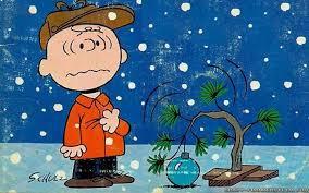 linus christmas tree brown christmas tree wallpapers 56