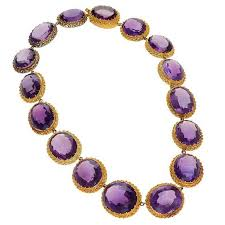 amethyst jewelry necklace images Antique amethyst gold rivi re necklace for sale at 1stdibs jpg