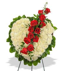 flower for funeral heart shaped flowers funeral stand in baton la billy heroman s
