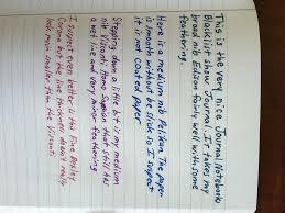 blacklist journal review my pen needs inkmy pen needs ink